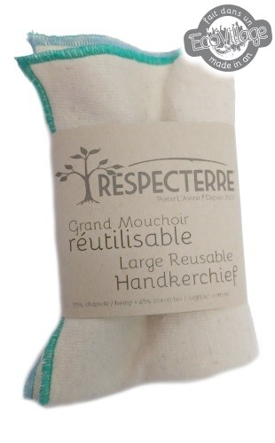 Grand mouchoir réutilisable