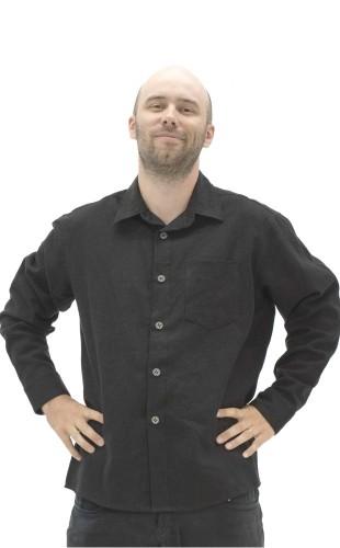 Long sleeve Hemp shirt ABAKA