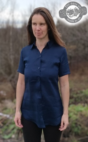 Dalida blouse (Linen of hemp)
