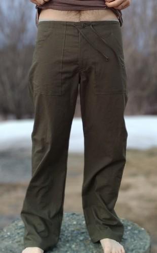Pantalon Cordon Chanvre Coton bio ABAKA