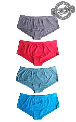 4 Viscose from Bamboo Boyshort Pack (discoutinued colours)