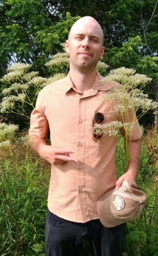 Short sleeve Hemp shirt ABAKA