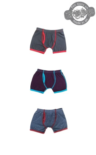 3 Re-Taille Boxers  for Boys