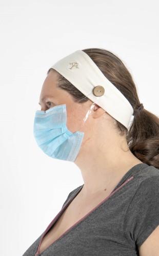 Headband for mask